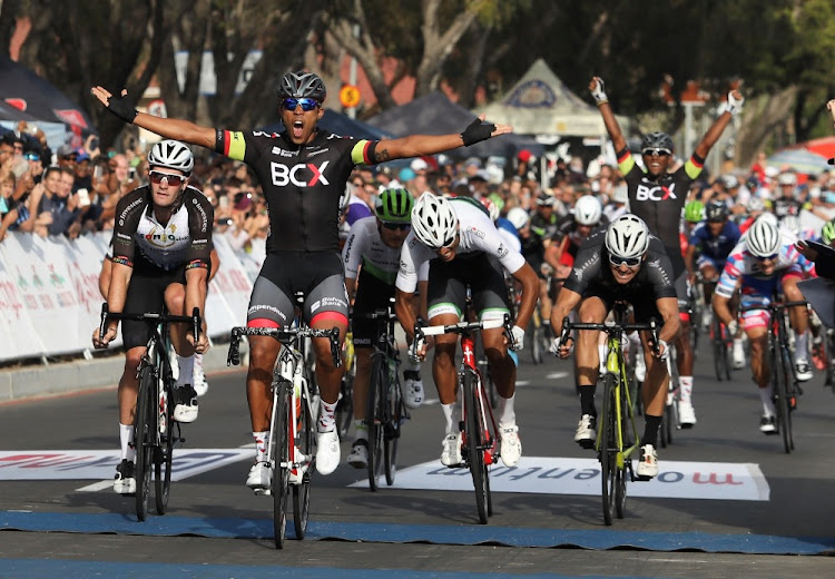 Nolan Hoffman wins the Cape Town Cycle Tour in a time of 02:37:30, March 11 2018. Picture: ESA ALEXANDER