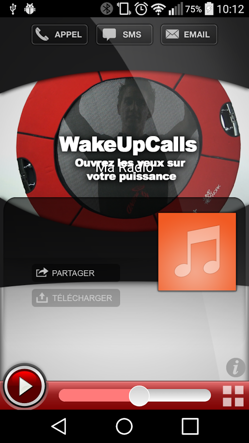 WakeUpCalls- screenshot