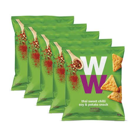 Chips med smak av söt thaichili - 5-pack