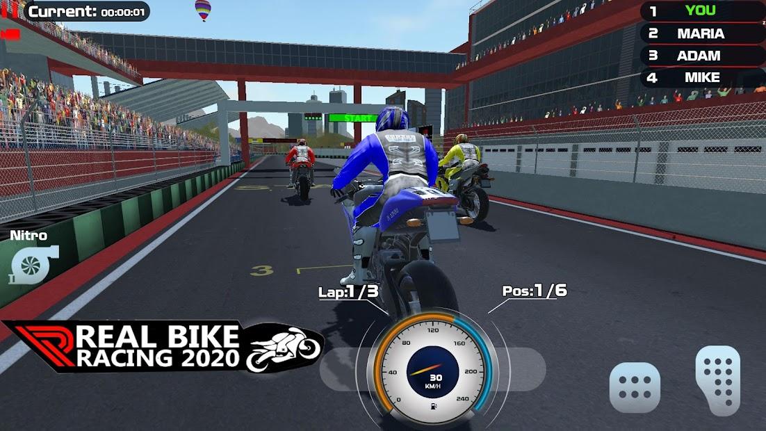 Real Extreme Bike Racing Game 2020