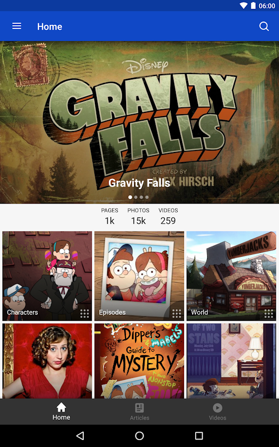 Fandom: Gravity Falls – Screenshot