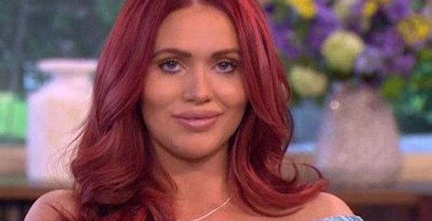 Amy Childs makes all visitors wear her placenta cream