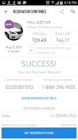 Screenshot of Car Rentals Market App