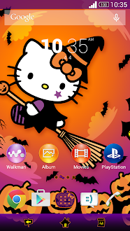 Hello Kitty Halloween Theme Gratis