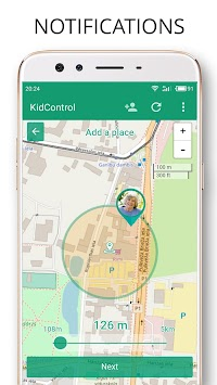 Family GPS tracker Kid Control