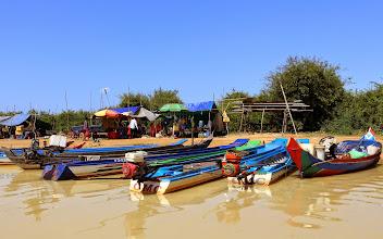Photo: Ta Prohmin jälkeen vaihdoimme maisemaa - temppeleiltä Tonle Sap -järvelle