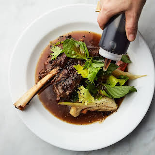 Braised Lamb Shanks with Fish Sauce.