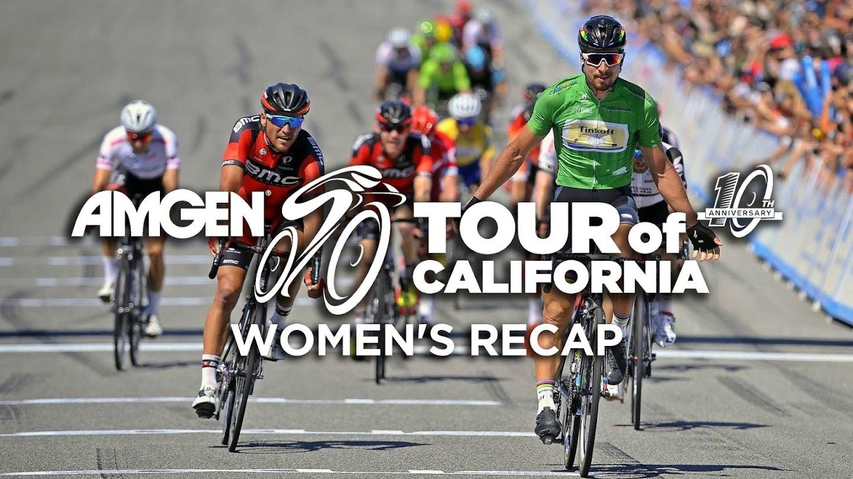 Watch AMGEN Tour of California Women's Recap live