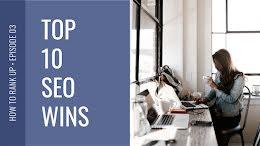 Top 10 SEO Wins - YouTube Thumbnail item