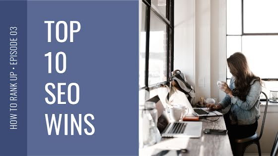 Top 10 SEO Wins - YouTube Thumbnail Template