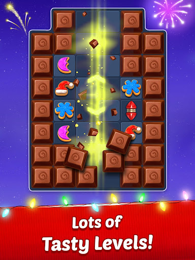 Christmas Cookie - Santa Claus's Match 3 Adventure - screenshot
