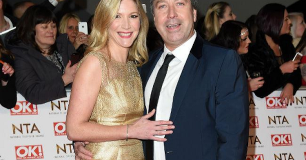 Lisa Faulkner bans John Torode from cooking for their wedding