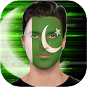 Pakistani Face Flag icon