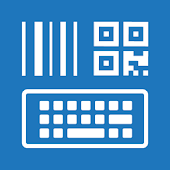 Barcode/NFC Scanner Keyboard