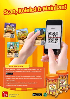 Champ Zoo Games Card