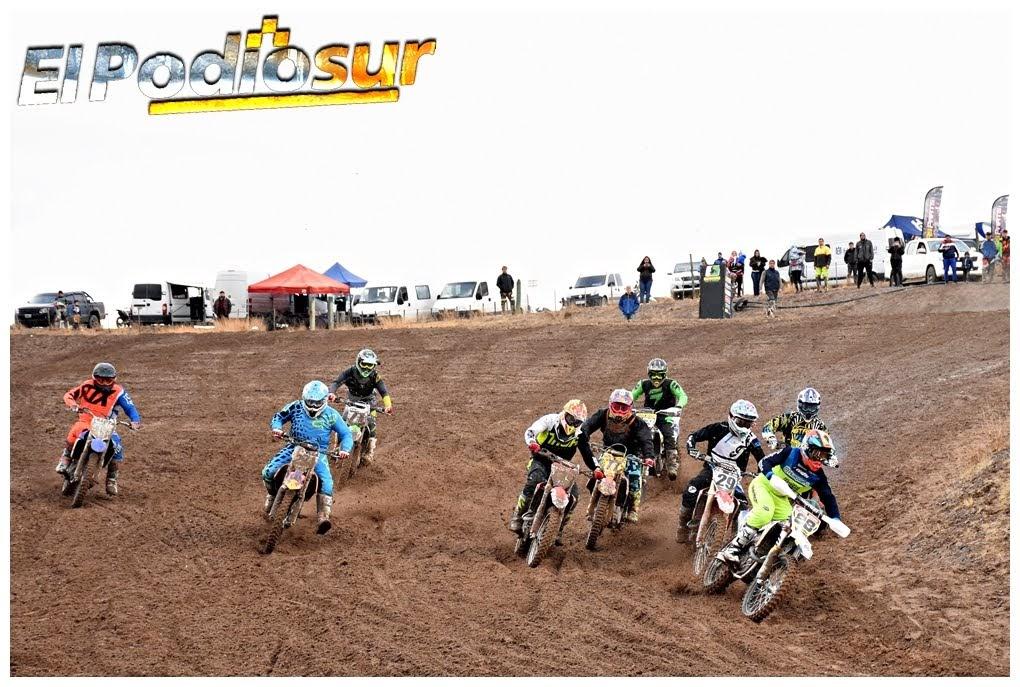 El Motocross del MX Patagonia dio espectáculo bajo la lluvia