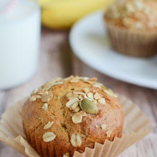 Banana Muffins with Muesli Topping