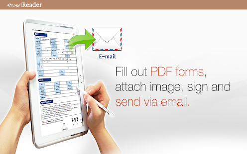 ezPDF Reader PDF Annotate Form Screenshot