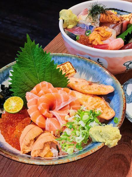 肥貓漁夫*料好實在產地直送生魚片丼飯 日式料理