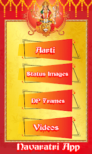 Download Navratri 2020 – Video Status, Aarti, DP maker For PC Windows and Mac apk screenshot 12
