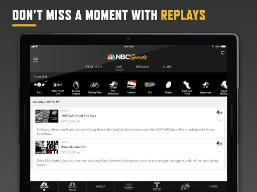 NBC Sports screenshot 12