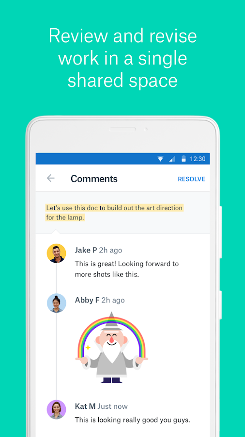Dropbox Paper- screenshot