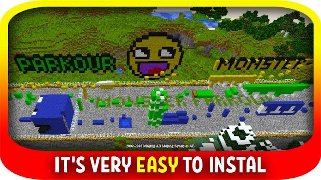 Download Monsters Parkour maps for minecraft pe APK latest version