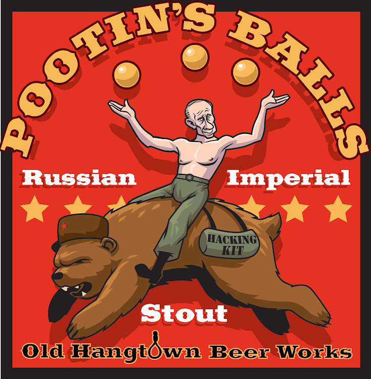 Logo of Pootins Balls Russian Imperial Stout