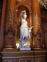 Photo: The George Bertrand room is a tribute to rural France in the 191h century. There are six marble sculptures represent the Harvest, the Wine Harvest, Fishing, Hunting, the Toast, and the Song.