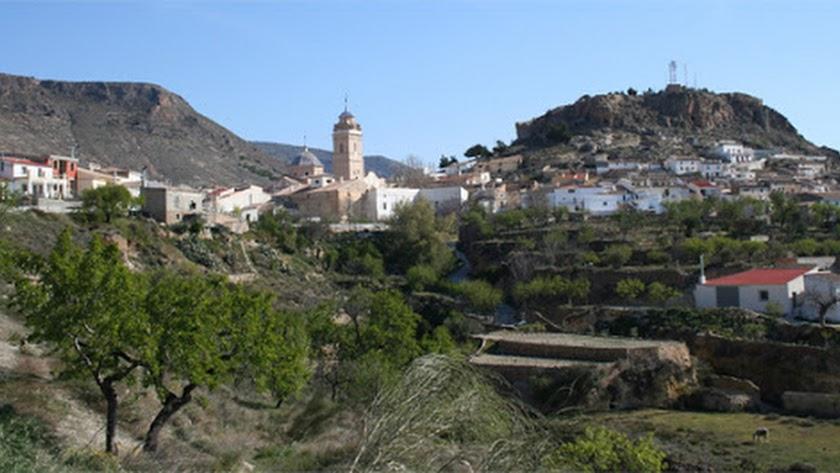 El municipio de Oria, en una foto de archivo.