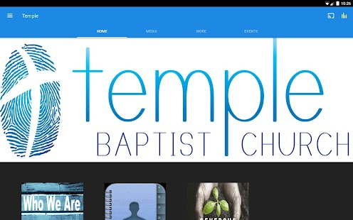 Temple Baptist White House - náhled