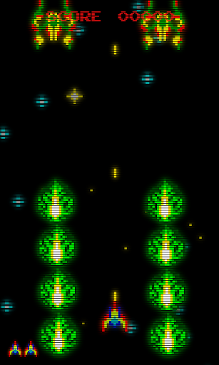 Retro Arcade Invaders - Space Shooter  screenshots 3