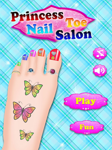 Princess Toe Nail Salon-Girls