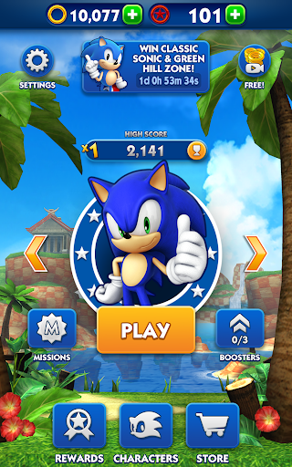 Sonic Dash  gameplay | by HackJr.Pw 17