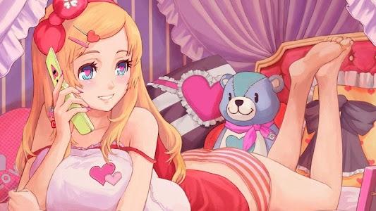 Anime Girl HD Wallpaper screenshot 2