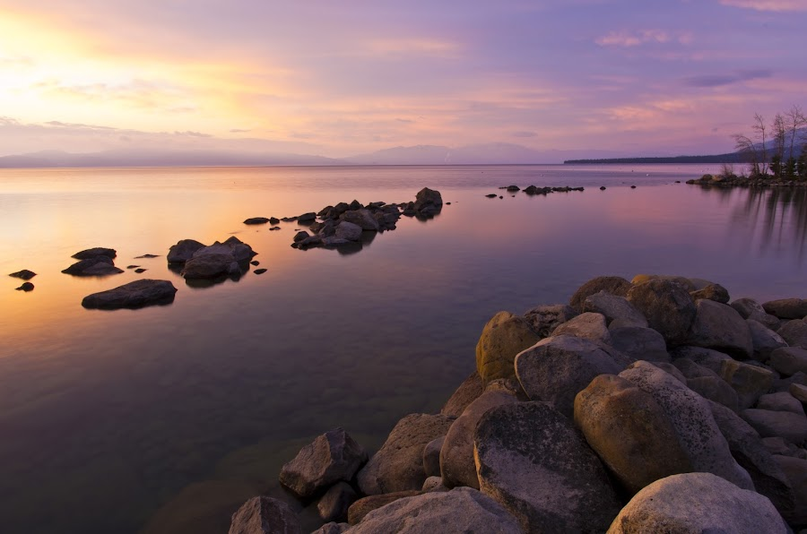 Color Transition by Dan Shimmon - Landscapes Waterscapes