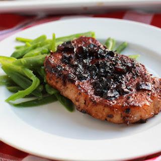 Balsamic Glazed Pork Loin Chops.