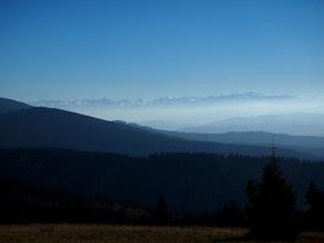 Photo: Ośnieżone Tatry, tutaj jeszcze okryte delikatną mgiełką, ale mamy plan aby pojawić się dzisiaj na Rysiance jeszcze 2 razy.