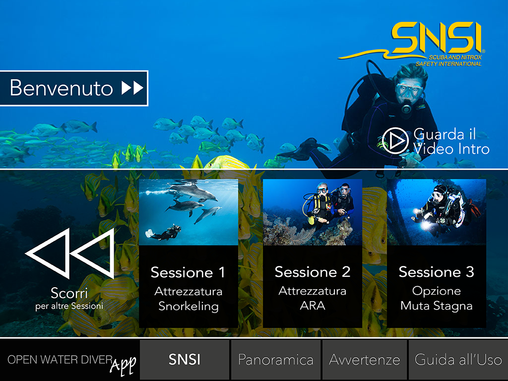 GoScuba ITA- screenshot