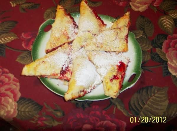 Cherry Turnovers......      Snow On The Mountain Recipe