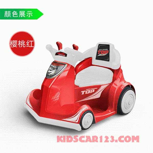 xe đụng điện 4 bánh b088a màu đỏ