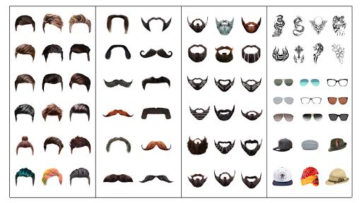 Man Hair Mustache Style  PRO : Boy Photo Editor 1.29 screenshots 2