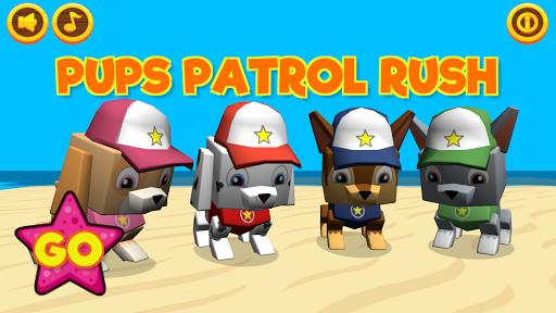 Pups Patrol Rush screenshot 2