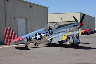Photo: North American P-51C Mustang