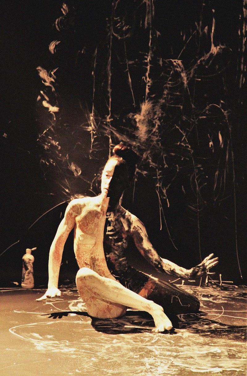woman body paint  di G.Papagno