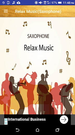 relax music~saxophone collection screenshot 2