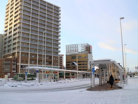 JR青森駅前 バスのりば