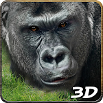 Angry Gorilla Attack Simulator Icon