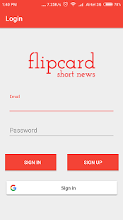 Flipcard News - Short News, Breaking News - náhled
