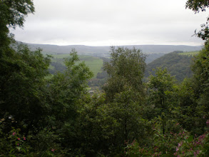 Photo: Looking back from the Pennine Way past Higher Underbank Farm